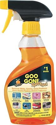 Spray Gel Surface Cleaner, Citrus Scent, 12 Oz Spray Bottle
