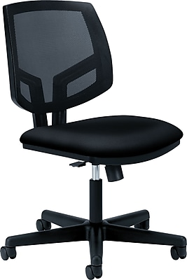 HON Volt Mesh Back Task Chair, Synchro-Tilt, Adjustable Arms, Black Fabric NEXT2018 NEXTExpress