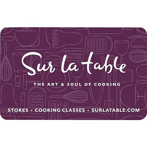 Sur La Table $200 Gift Card Email Delivery (67522B20000)