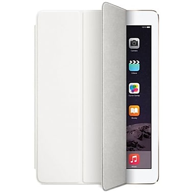 Apple – Étui Smart Cover pour iPad Air 2, polyuréthane, blanc (MGTN2ZM/A)