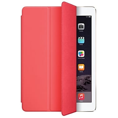 Apple – Étui Smart Cover pour iPad Air 2, polyuréthane, rose (MGXK2ZM/A)