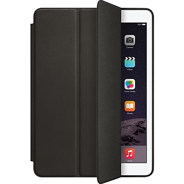 Apple – Étui Smart Case pour iPad Air 2, cuir aniline teint, noir (MGTV2ZM/A)