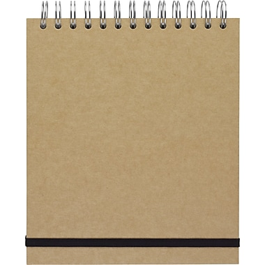 Paperchase Kraft Top Coil Notebook, 7
