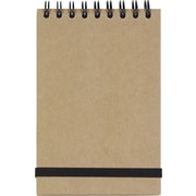 "Paperchase Black Kraft Top Coil Notebook, 3""x4.75"""