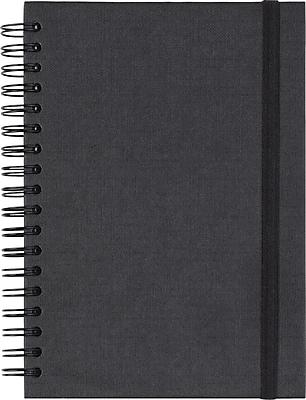 Paperchase Black Kraft Notebook, 4.5