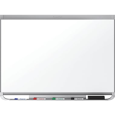 Quartet® Prestige® 2 Magnetic Total Erase® Board, Graphite Frame, 96