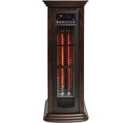 LifeSmart 4-in-1 1500W 2000 SqFt. Infrared Tower Heater, White