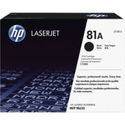 HP 81A Black LaserJet Toner Cartridge, (CF281A)