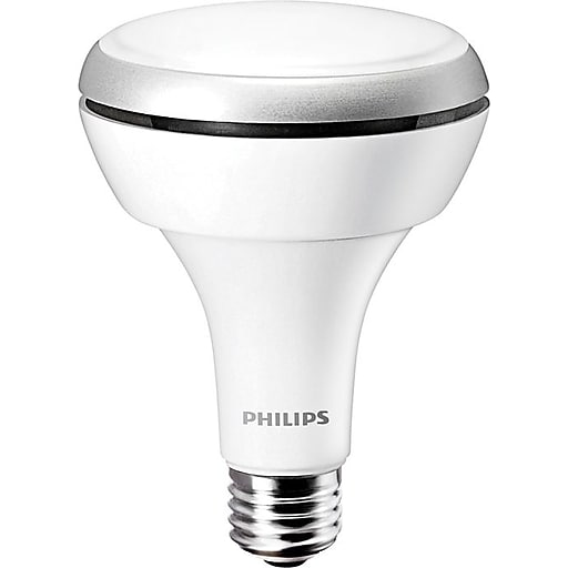 Philips 10 Watt BR30 LED Indoor Flood Light Bulb, Daylight