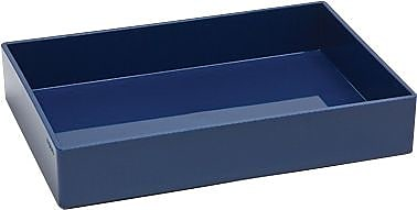 Poppin Medium Accessory Tray, Navy, (100320)