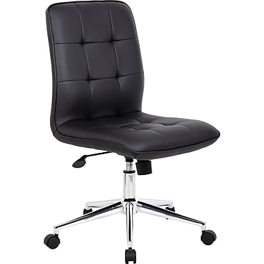 Boss Modern Armless Executive Office Chair