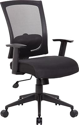 Boss® Mesh Task Chair, B6706 Series, Black