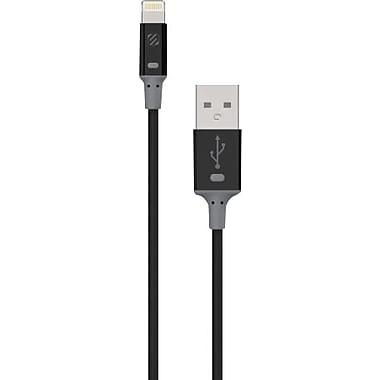 Scosche – Câble de charge et de synchronisation StrikeLINE II, noir