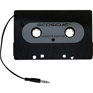 Scosche Universal Cassette Adapter for iPod and MP3 players