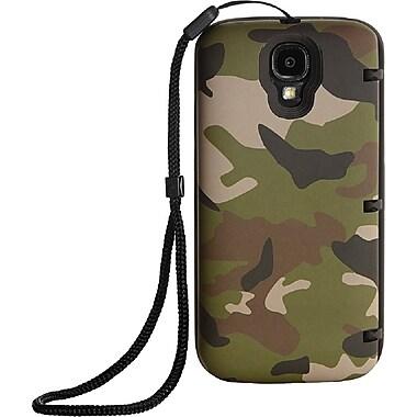 EYN Smartphone Case for Samsung Galaxy S4 with Hidden Storage, Camouflage