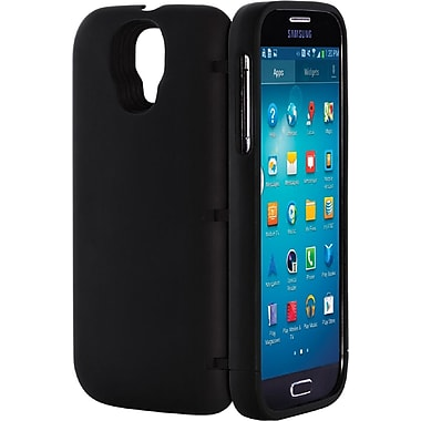 EYN Smartphone Case for Samsung Galaxy S4 with Hidden Storage, Black