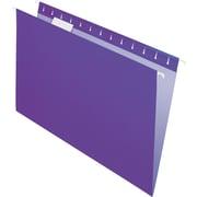 "Pendaflex Essentials Color Hanging Folders, Legal, 8.50"" Width x 14"" Length Sheet Size, 1/5 Tab Cut, Violet, 25/Box (PFX81631)"