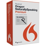 Nuance® Dragon NaturallySpeaking v.13.0 US Premium Wireless Software, 1 User