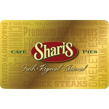 Shari's Cafe & Pies Gift Card $100