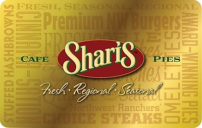 Shari's Cafe & Pies Gift Card $50