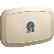 Koala Kare® Horizontal Wall-Mounted Baby Changing Station, Cream