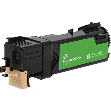Sustainable Earth by Staples Remanufactured Black Toner Cartridge, Dell 2150 (SEBD2150BRDS), High Yield