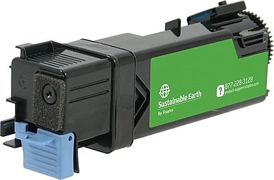 Staples® Remanufactured Color Toner Cartridge, Dell 2150 (331-0718/9X54J/331-0715/8GK7X), Yellow, High Yield