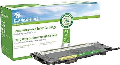 Staples® Remanufactured Color Laser Toner Cartridge, Samsung CLP-320 (CLT-Y407S), Yellow