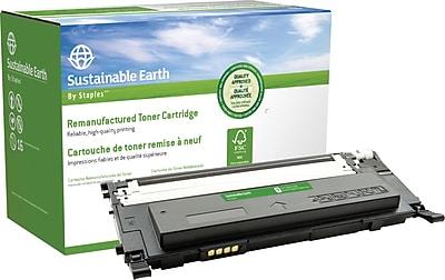 Staples® Remanufactured Color Laser Toner Cartridge, Samsung CLP-315 (CLT-K409S), Black