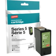 Staples Dell Series 5 Remanufactured Black Ink Cartridge, High Yield (SID-R05B)