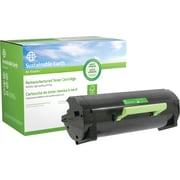 Sustainable Earth by Staples Reman Black Toner Cartridge, Lexmark MX510, (SEBMX510R), Extra High Yield