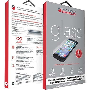 Invisible SHIELD by ZAGG iPhone 6 Screen Protector, Clear