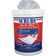 Do-It All Germicidal Cleaner Wipes, 6 x 10.5, Lemon-Lime, 90/Canister