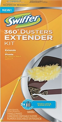 Extension-Handle Duster, 3 Ft. Handle, 6/Carton