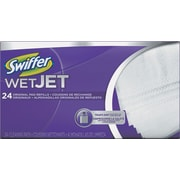 "Wetjet System Refill Cloths, 14"" x 3"", White, 24/Box"