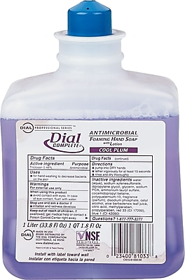 Foaming Hand Wash Refill, Cool Plum Scent, 1000ml Bottle