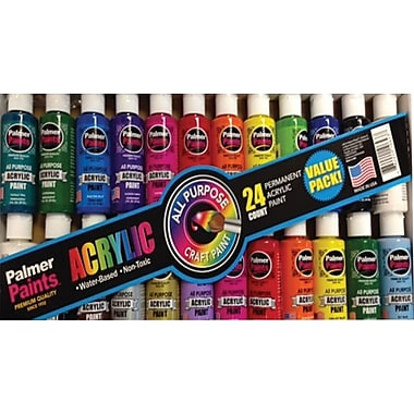 Cra-Z-Art Palmer Paints Acrylic 2oz, 24/Count