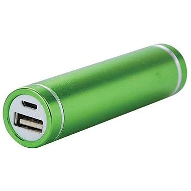 iPM Portable USB 2600mAh Universal Flash Charger, Green, 2/Pack