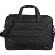 """Bugatti 14"""" Executive Briefcase, Black"""