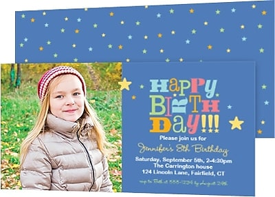 Birthday Invitations Staples