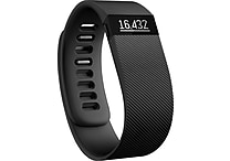 Fitbit Charge Wireless Activity Wristband, Small, Black (FB404BKSS)