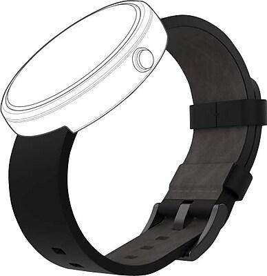 Moto 360 Band, Black Leather