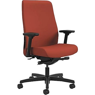 HON® HONLWU2ACU42 Endorse® Collection Fabric Mid-Back Office Chair with Adjustable Arms, Poppy
