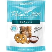 Snack Factory Classic Pretzel Crisp, 3 oz., 8/Carton