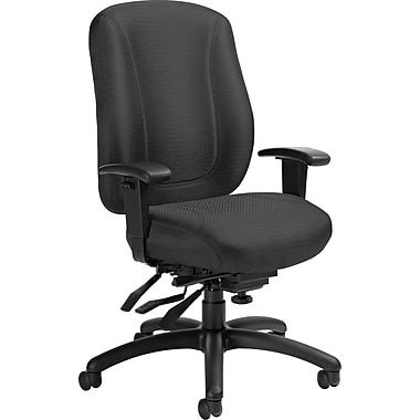 Offices To Go® Overtime High Back Multi-Tilter Office Chair, Charcoal Grey