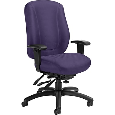 Offices To Go® Overtime High Back Multi-Tilter Office Chair, Violet