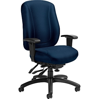 Offices To Go® Overtime High Back Multi-Tilter Office Chair, Navy