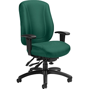 Offices To Go® Overtime High Back Multi-Tilter Office Chair, Forest