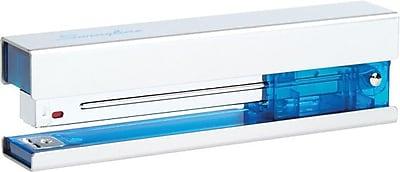 Swingline® Metal Fashion Stapler, 20 Sheet Capacity, Chrome/Blue (87830)