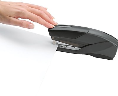 Swingline® EZTouch™ Reduced Effort Stapler, 20 Sheet Capacity, Black (66424)